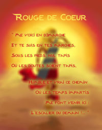 Kaya rouge de coeur paroles