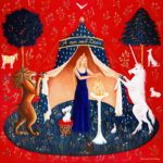 Tableau Dame à la Licorne