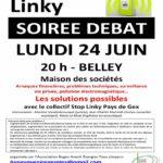 affiche soirée débat à Belley