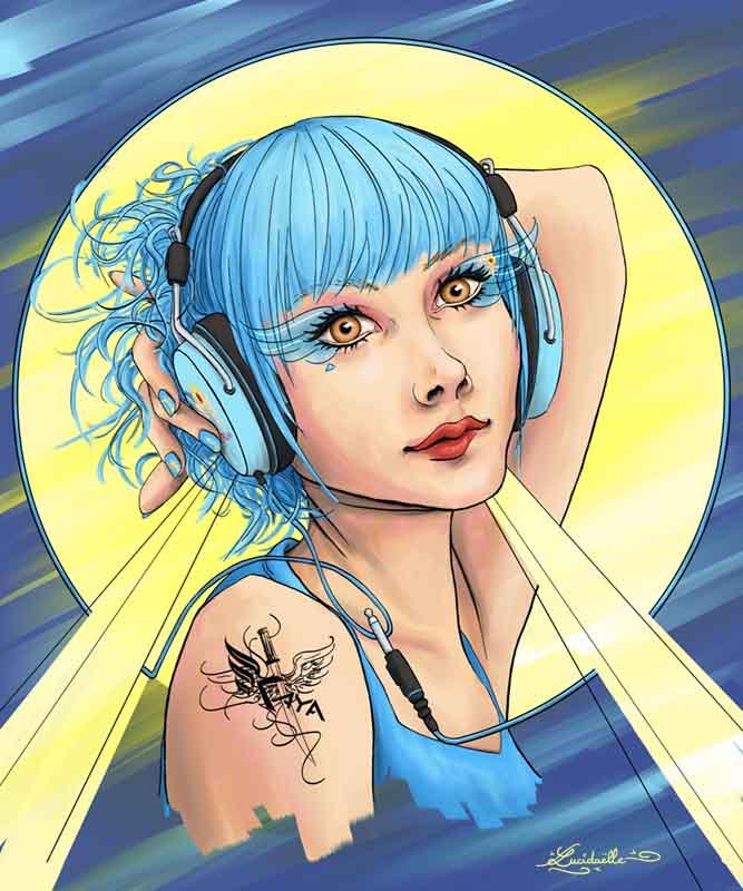 Amber musique portrait