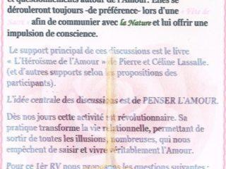 discussion PENSER l'AMOUR